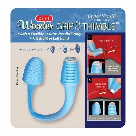 2-in-1 Wonder Grip & Thimble