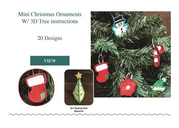 Mini Christmas Ornaments CD