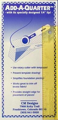 Add-A-Quarter 6in Ruler