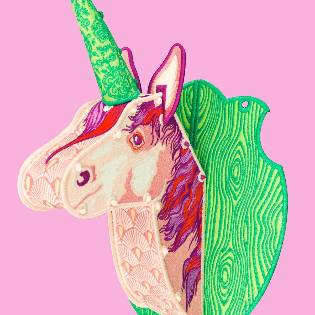 Unicorn Trophy by Tula Pink
