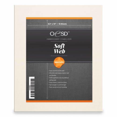 OESD Soft Web 8.5 x 10 sheets