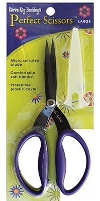 Perfect Scissors Karen Kay Buckley Large 7 1/2 Purple