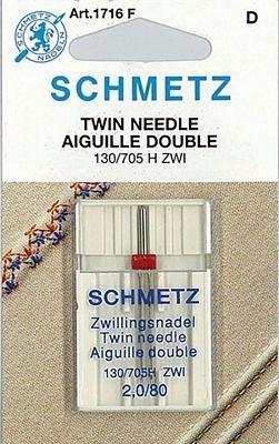 Schmetz Universal Twin Size 2.0/80 1 Pack