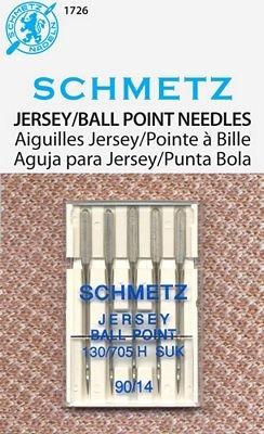 Schmetz Jersey/Ball Point Size 90/14 5 Pack
