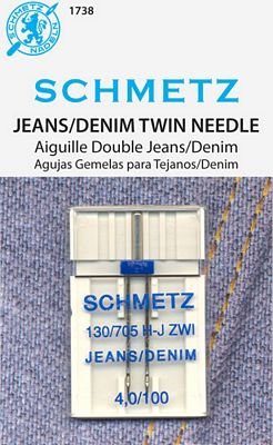 Schmetz Jeans/Denim Twin Size 4.0/100 1 Pack