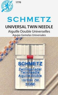 Schmetz Universal Twin Size 3.0/90 1 Pack