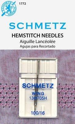 Schmetz Hemstitch Size 100/16 1 Pack