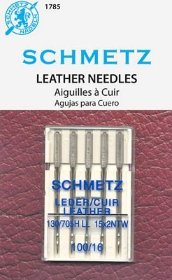 Schmetz Leather Size 100/16 5 Pack