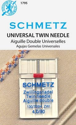 Schmetz Universal Twin Size 4.0/90 1 Pack