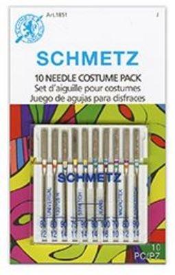 Schmetz Costume 10 Pack