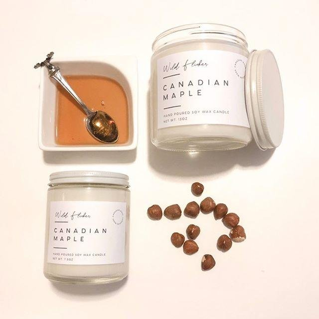 Canadian Maple Soy Wax - Wild Flicker