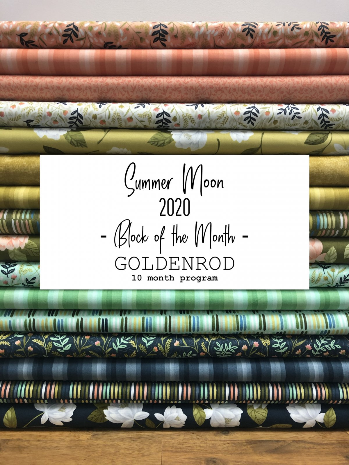 2020 Summer Moon BOM - Goldenrod