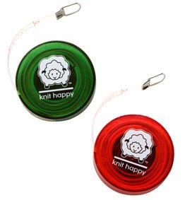 Knit Happy Tape Measure by Notions