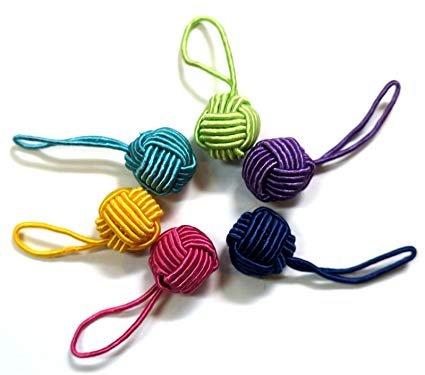 Yarn Ball Stitch Markers by Hiyahiya