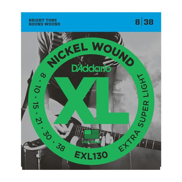 D'Addario XL Nickel Wound Electric, Extra-Super Light
