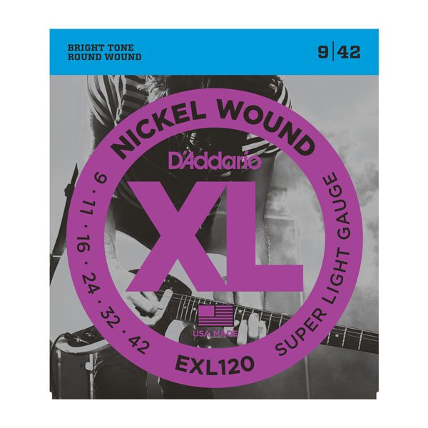 DAddario XL Nickel Wound Electric Super Light