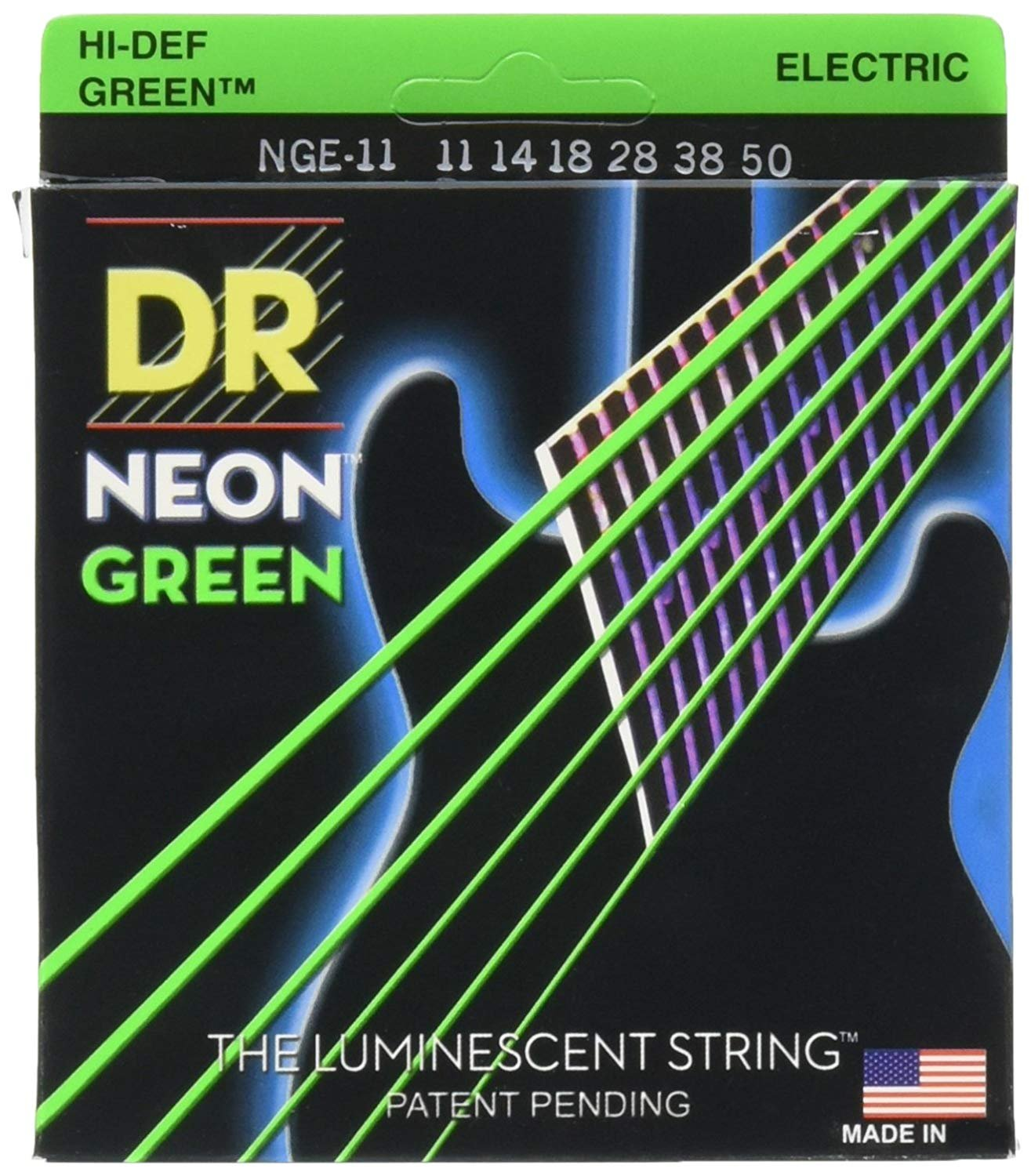 DR Neon Heavy Electric, Green