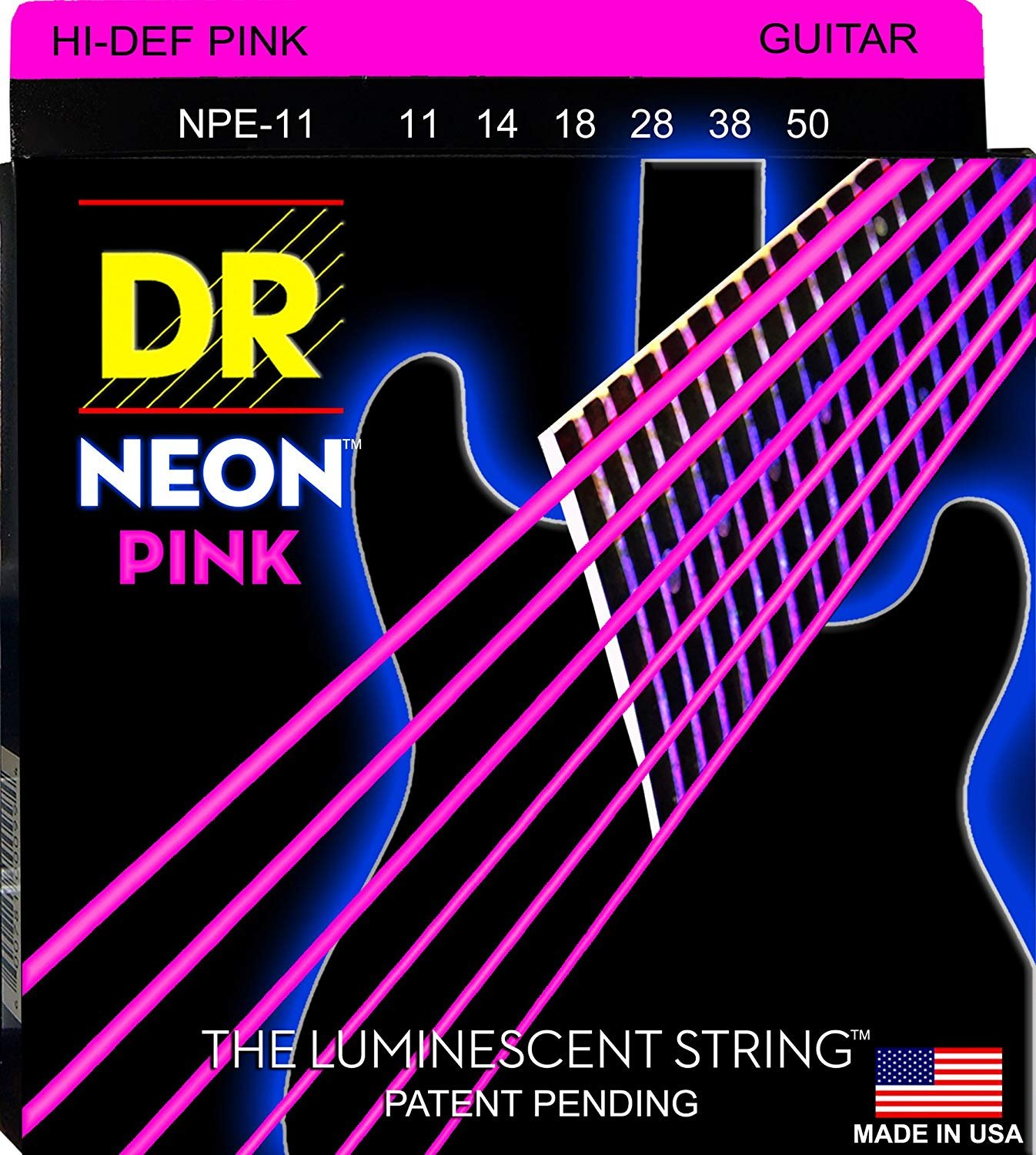 DR Neon Heavy Electric, Pink
