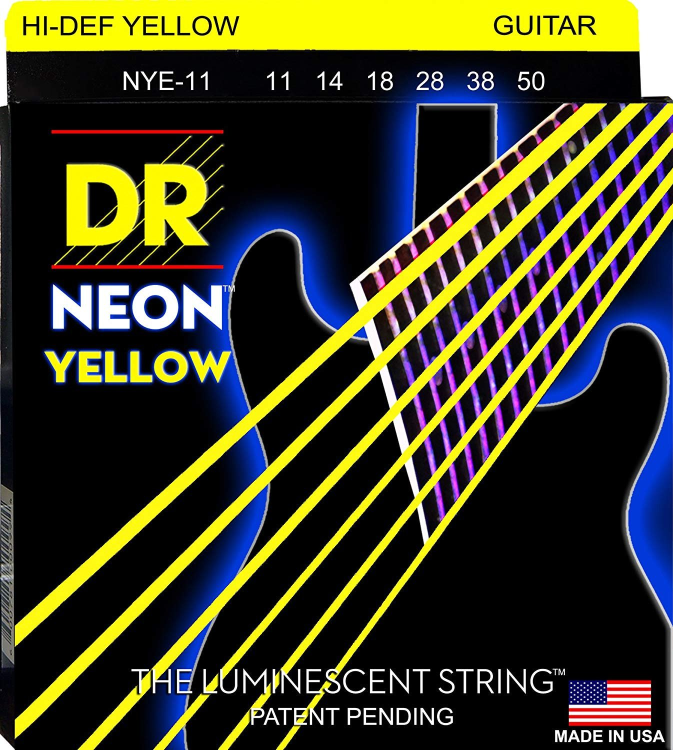 DR Neon Heavy Electric, Yellow