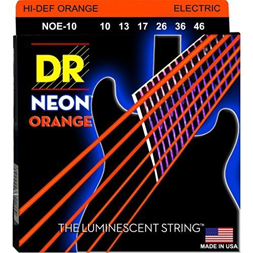DR Neon Medium Electric, Orange