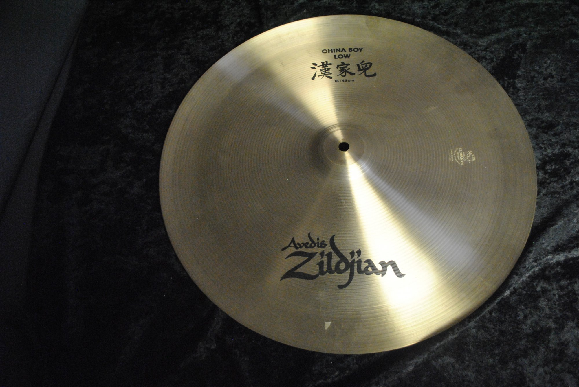 Zildjian Cymbal, 18 China Boy Low