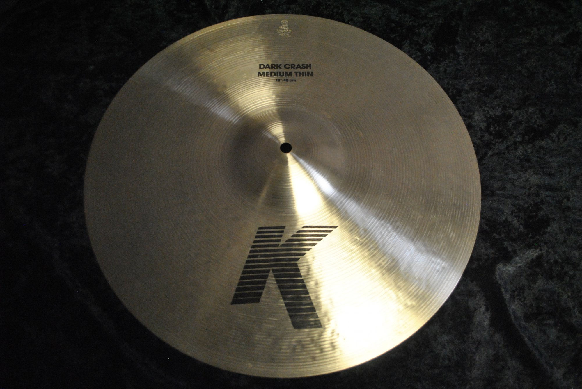 Zildjian Cymbal18 K Dark Crash