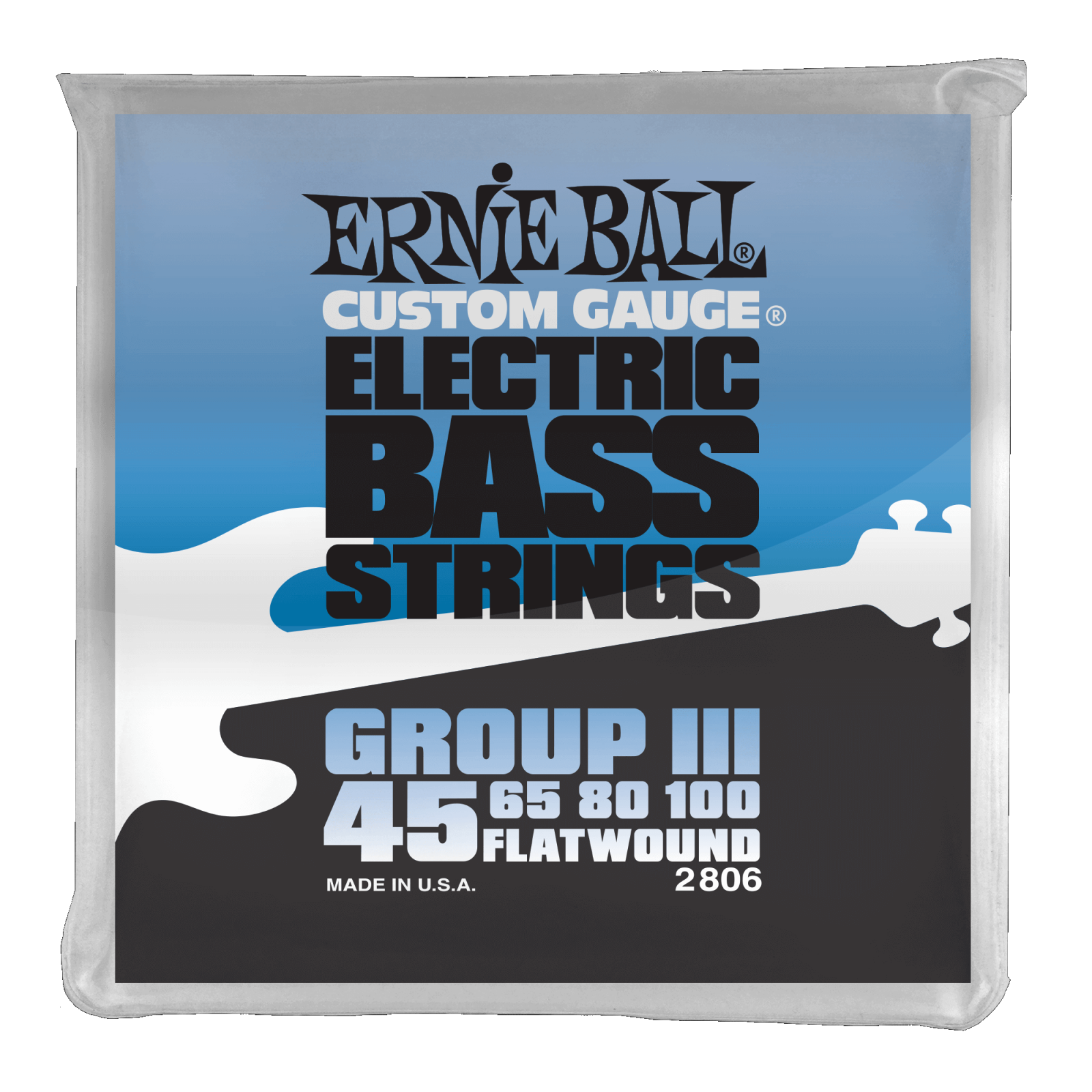 Ernie Ball Flatwound Group III Electric Bass