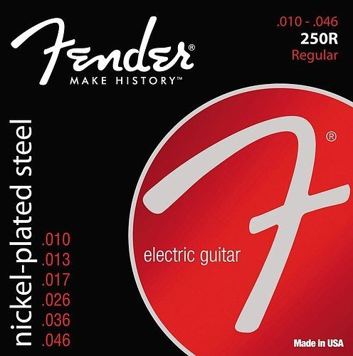 Fender Nickel-Plated Steel Regular Electric