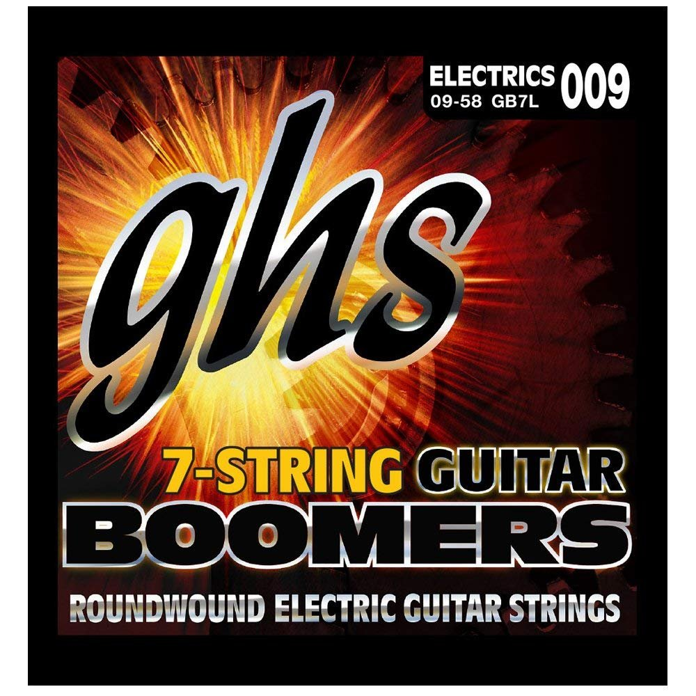 GHS 7-String Guitar Boomers Extra Light Electric