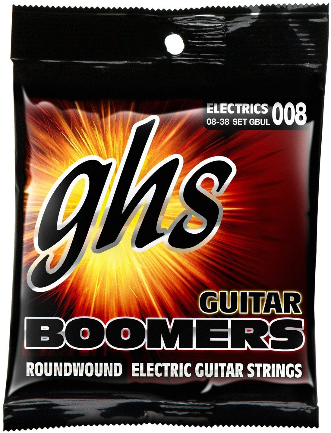 GHS Guitar Boomers Ultra Light Electric