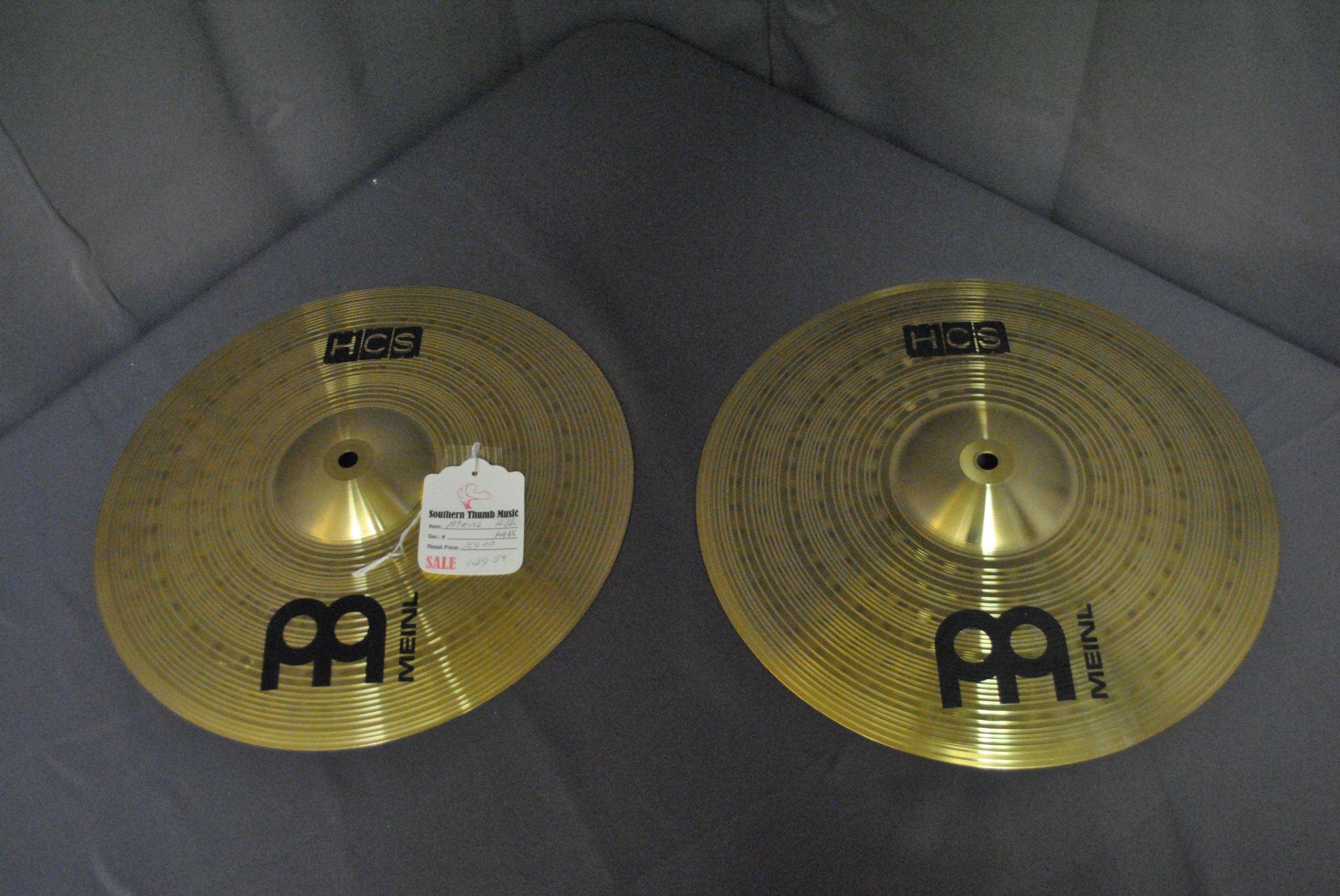 Meinl HCS 14 Hi-Hat Cymbals