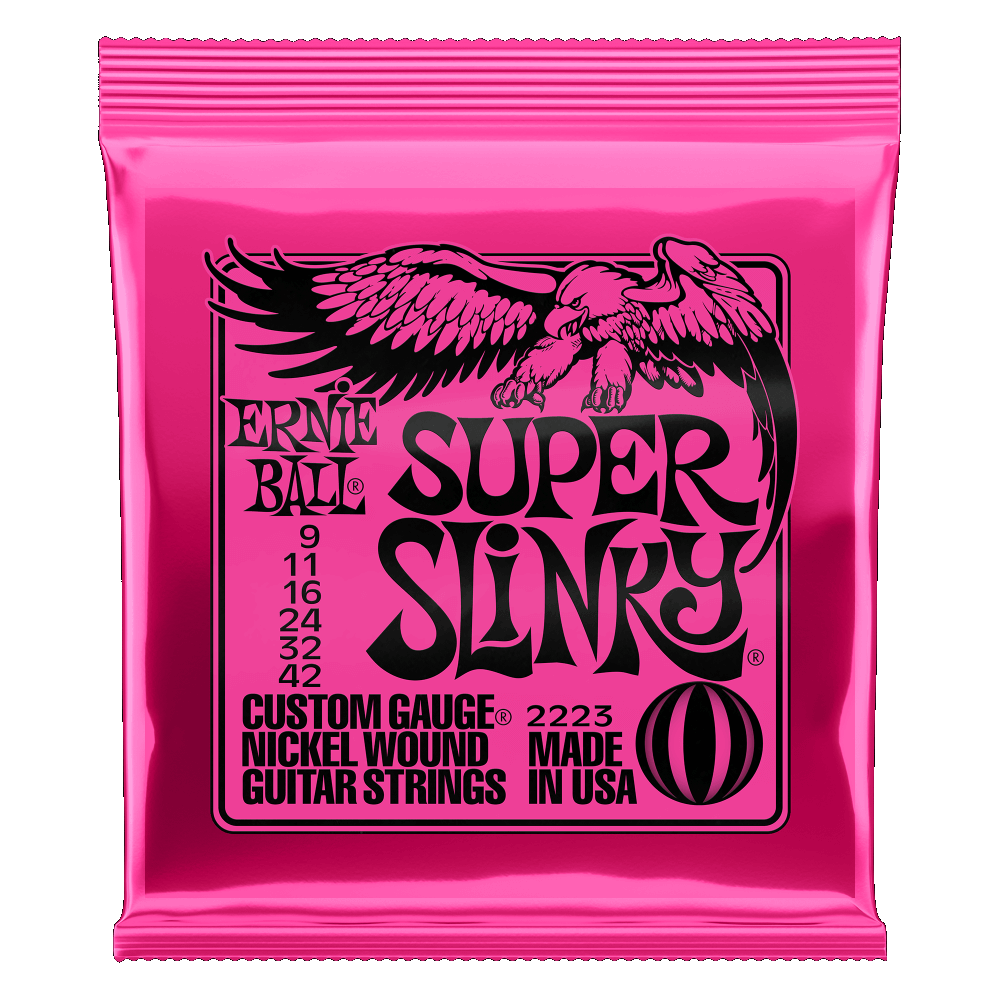 Ernie Ball Super Slinky Electric