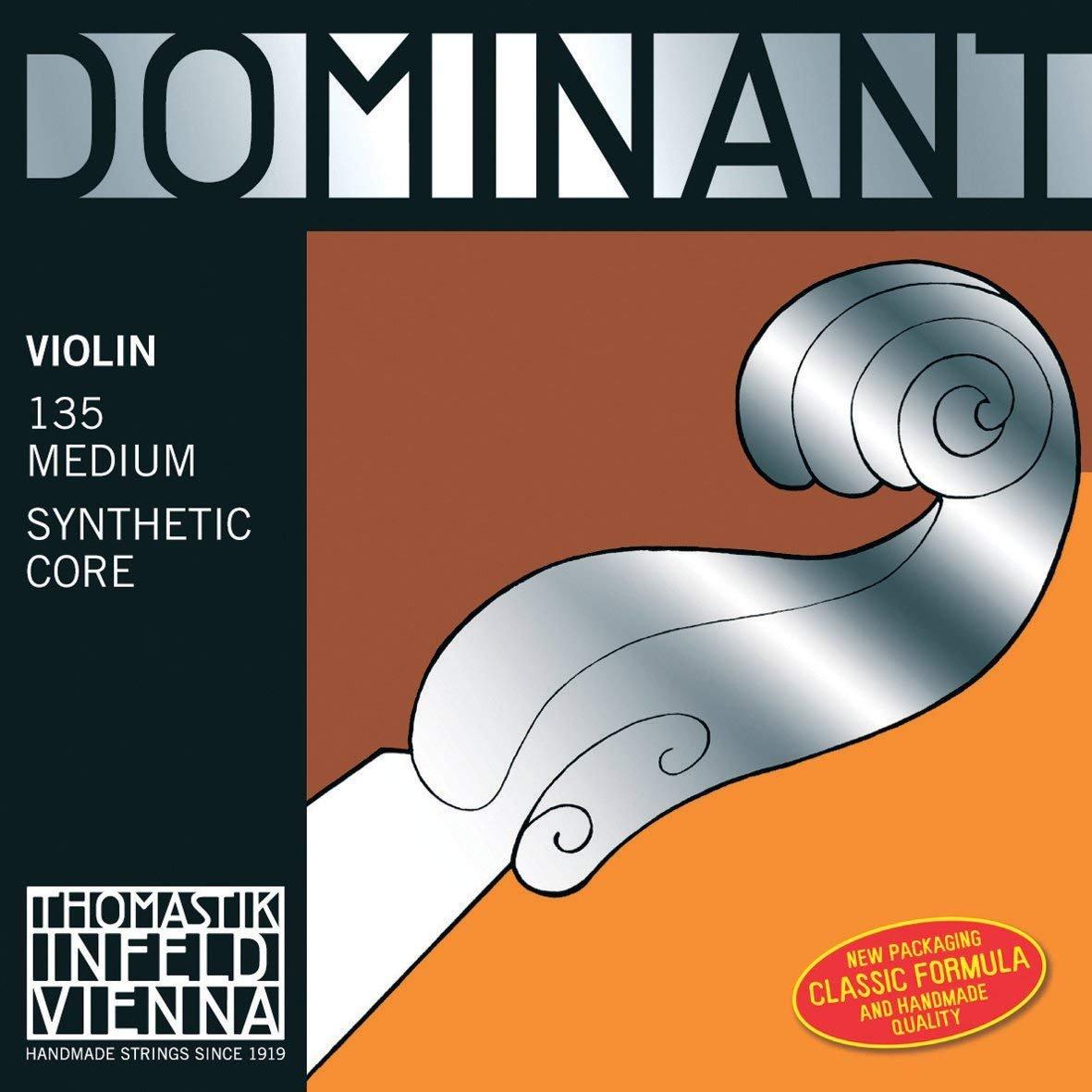 Thomastik Dominant 1/2 Violin String Set, Medium