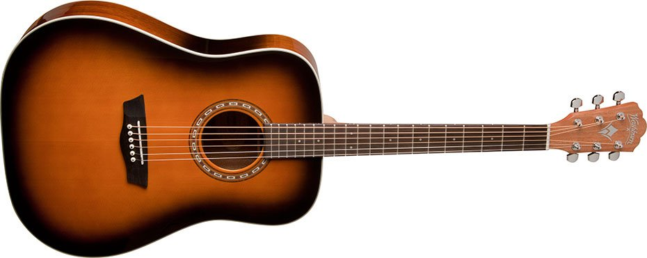 Washburn - Dreadnought Acoustic All Tobacco Burst