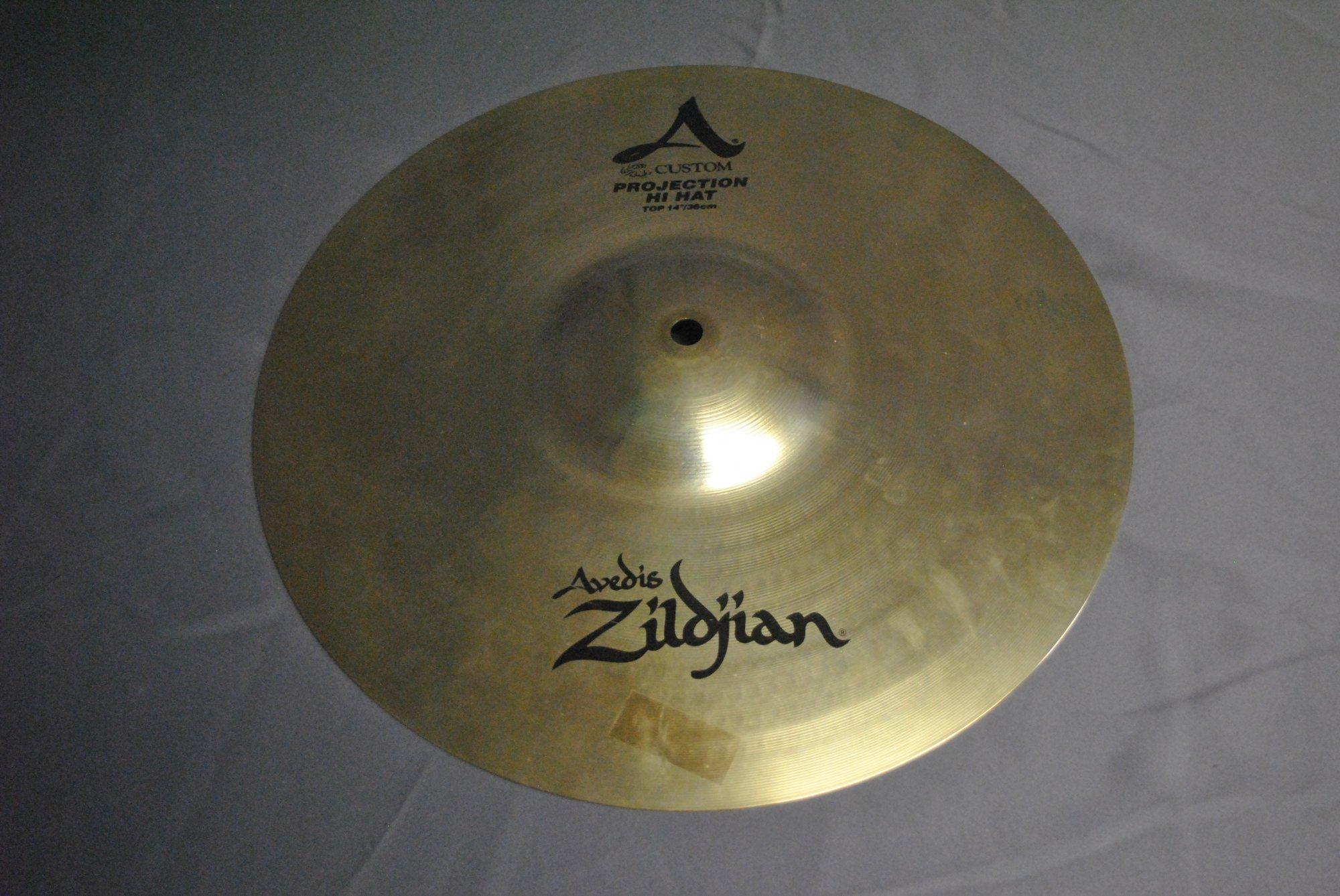 Zildjian A Custom Projection Hi Hat Pair 14, Used