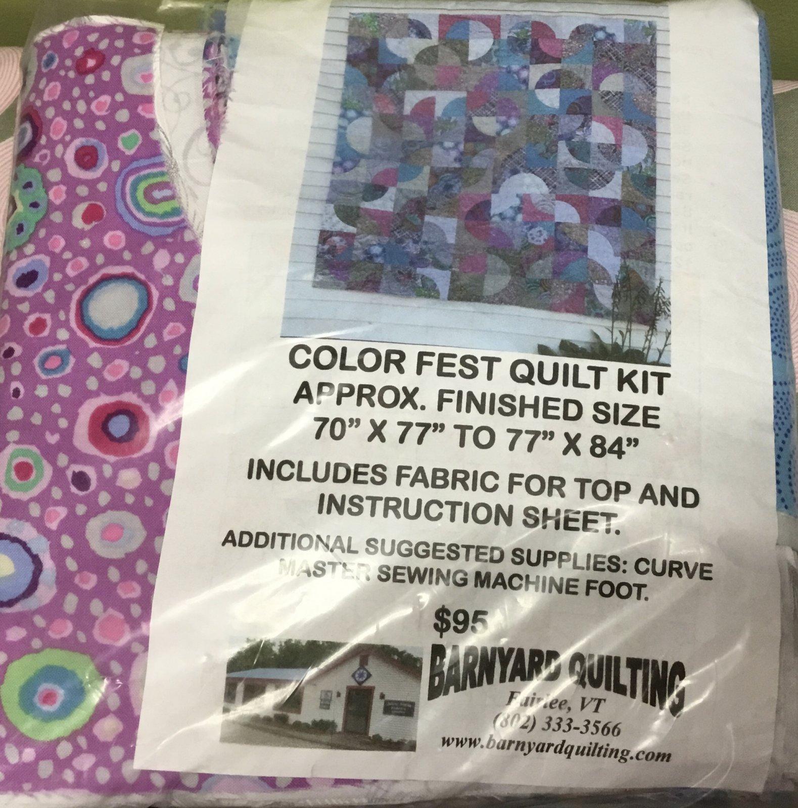 Color Fest Quilt Kit