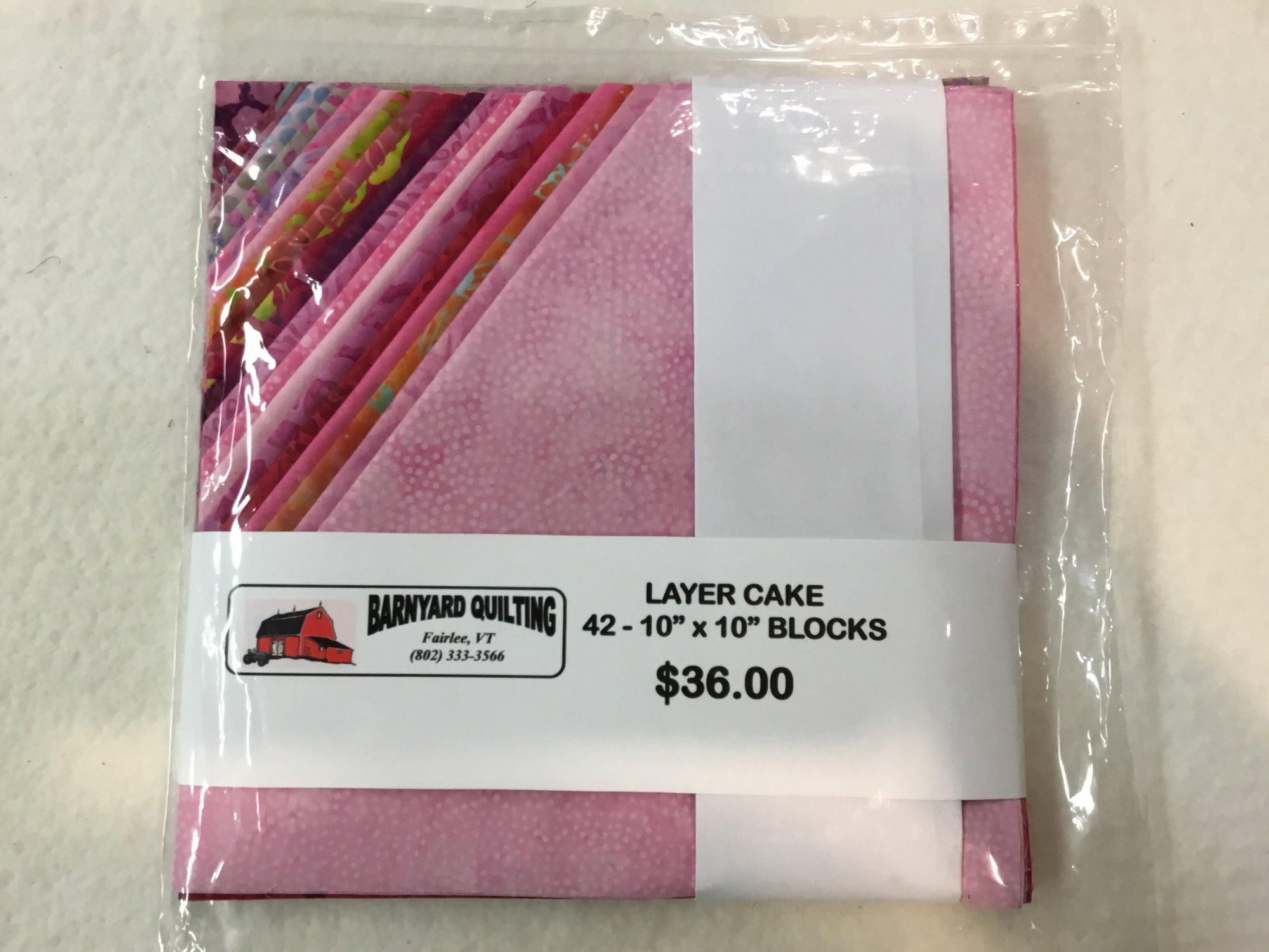 Hay Stack color: pink batik