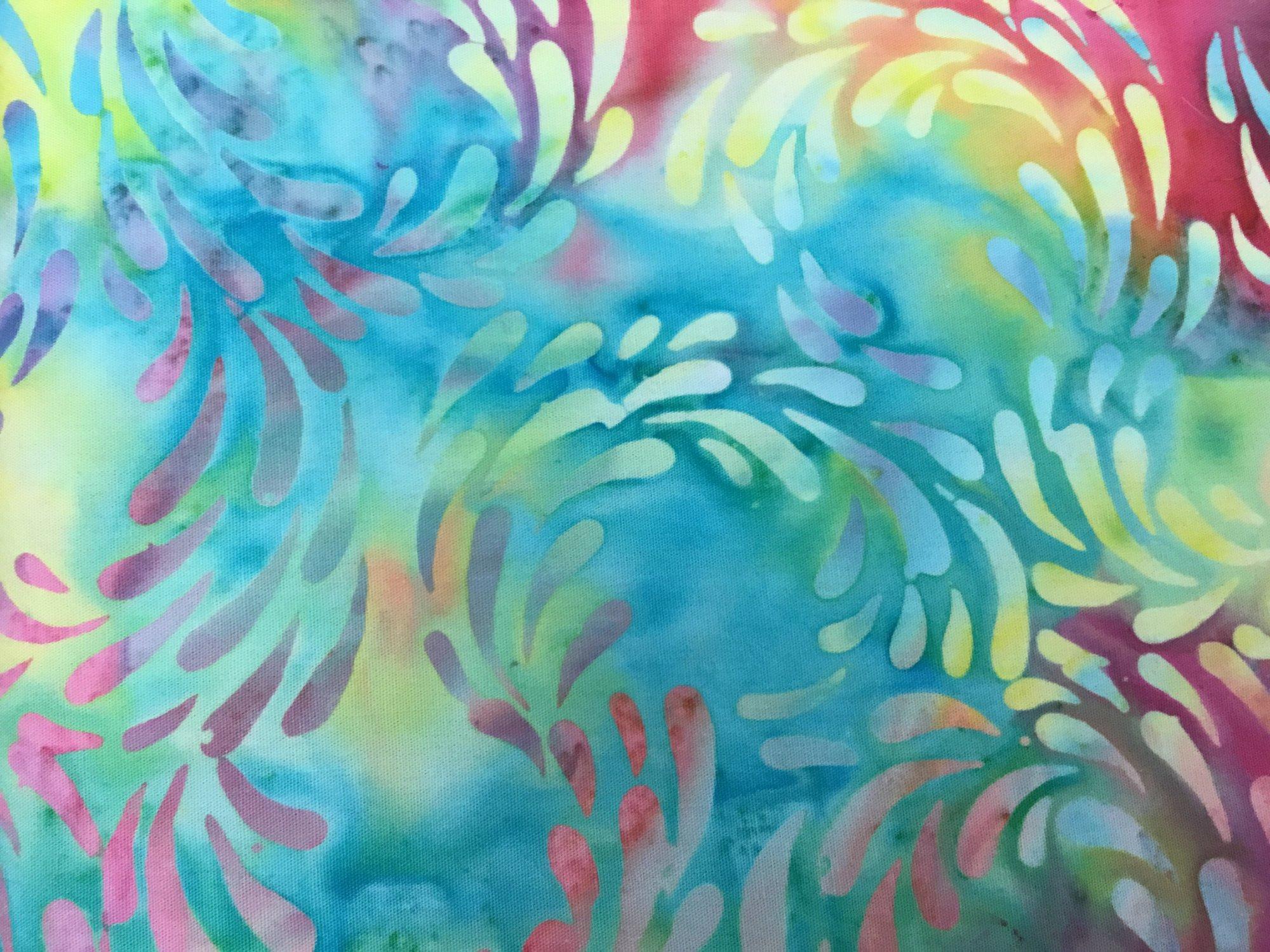 Island Batiks color: Splash - Tiedye-Fresh Pick?ns