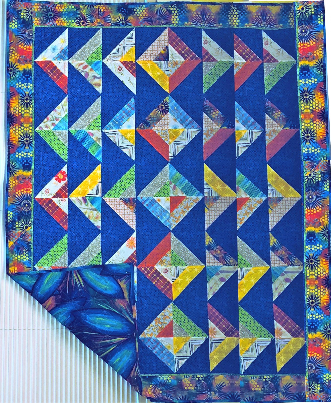 The Mall Quilt Kit 51 x 62