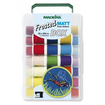 Madeira Frosted Matt 40 Spool Box