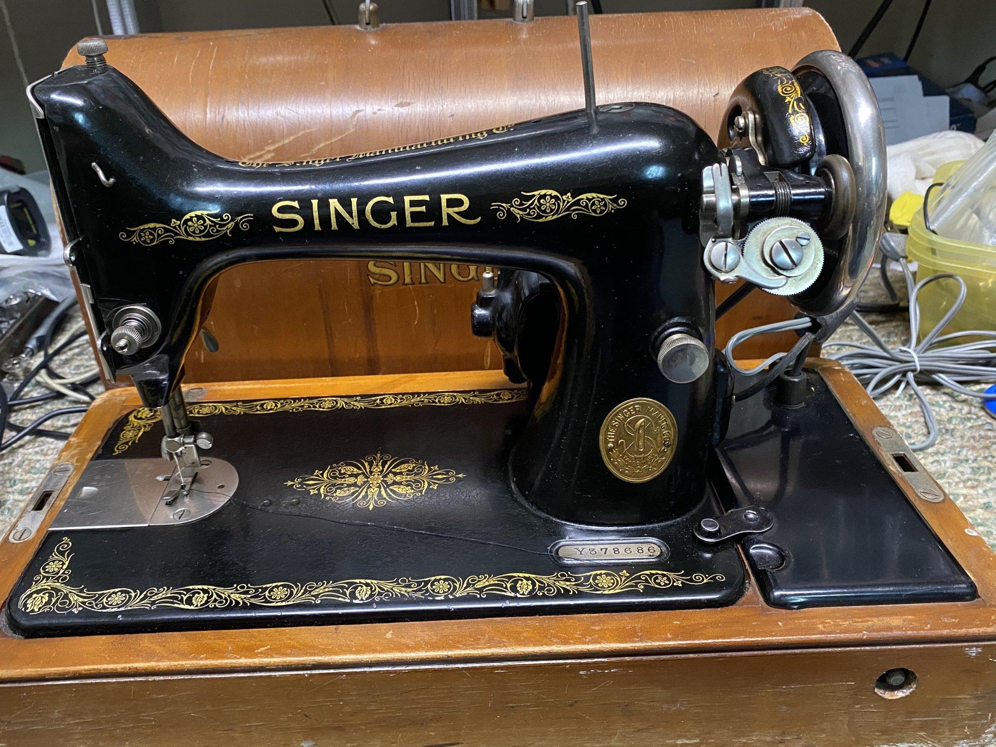 Singer 99k  1922