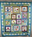Stitchers Garden block of month 12