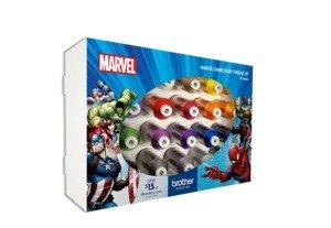 24 PK Marvel Colors Emb Thread