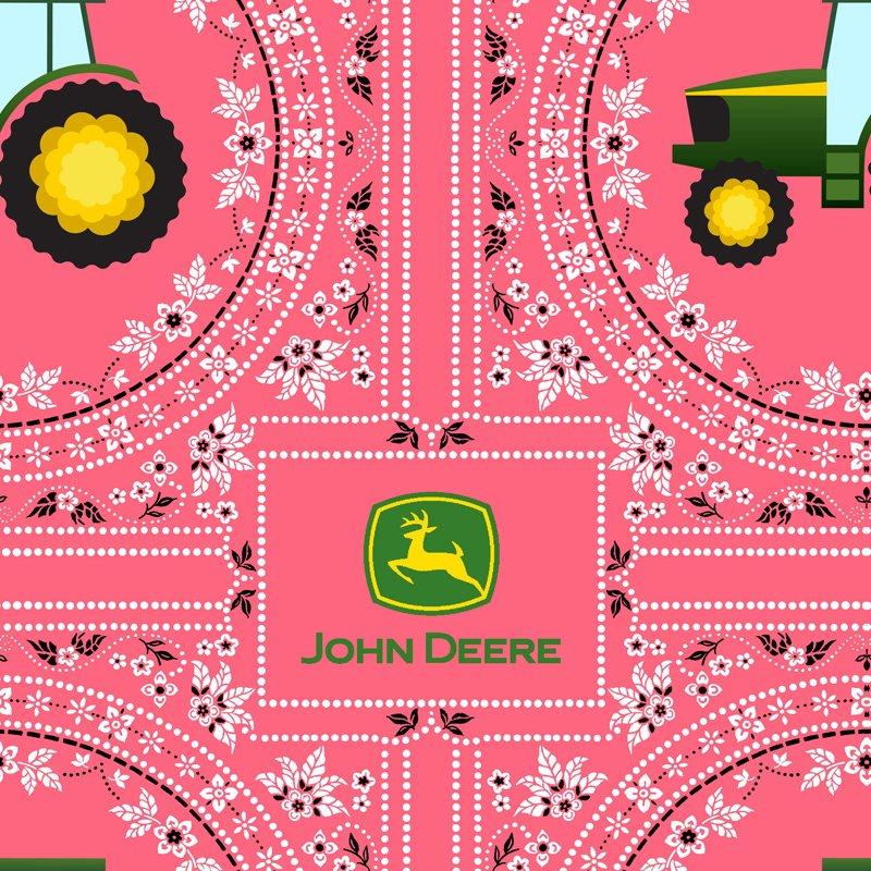 John Deere Bandana Pink 70214-C470715