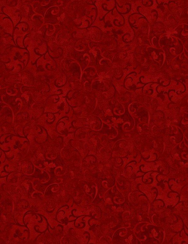 Essentials Scroll Dark Red