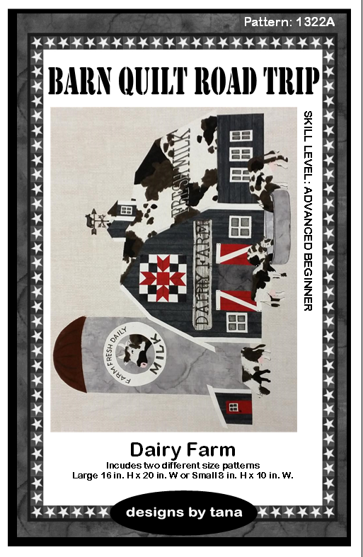 Barn Quilt Road Trip Dairy Farm Kit