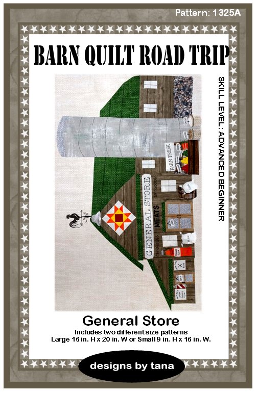 Barn Quilt Road Trip General Store Pattern