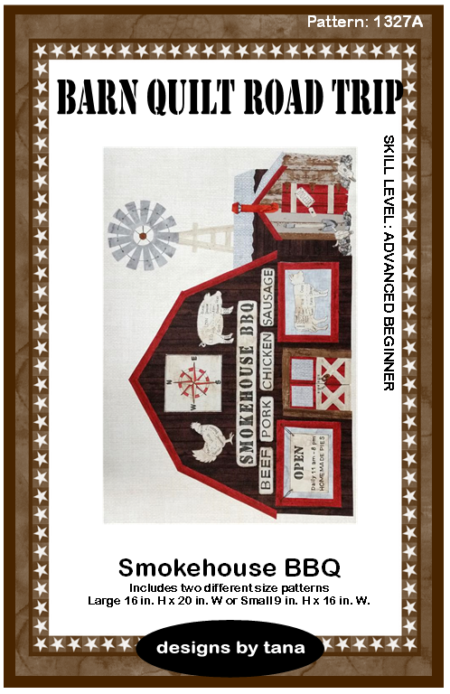 Barn Quilt Road Trip Smokehouse Pattern