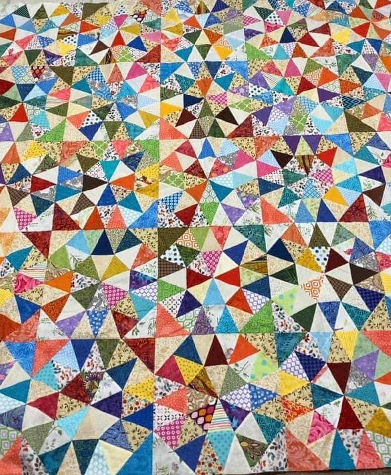 Morning Star Quilt Kit With Video