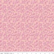 Blooms Leaves Pink